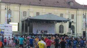 Prezentarea echipelor - 5 iulie 2016 - Piata Mare, Sibiu